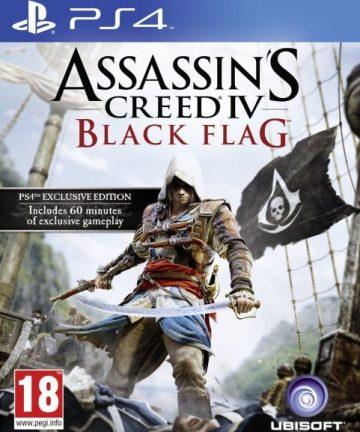 Juego Sony ps4 assassin's Creed black flag